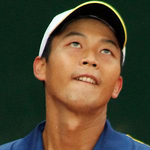 Male Tennis Player Lu Yen-hsun - age: 37