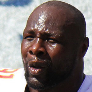 Football player Tamba Hali - age: 37