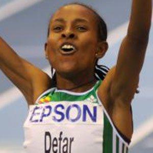 Runner Meseret Defar - age: 37