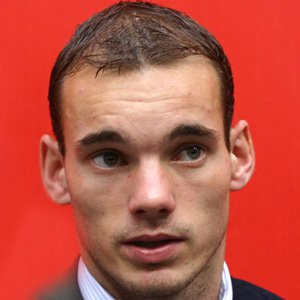 Soccer Player Wesley Sneijder - age: 37