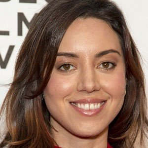 TV Actress Aubrey Plaza - age: 36