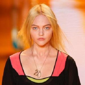 model Sasha Pivovarova - age: 35
