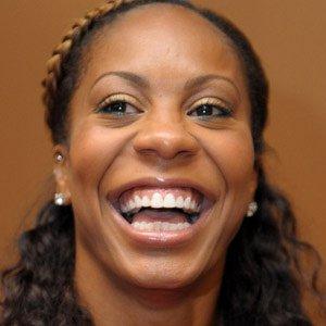 Runner Sanya Richards - age: 35