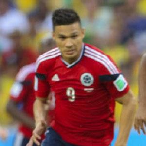 Soccer Player Teofilo Gutierrez - age: 35