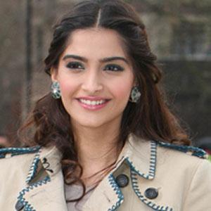 Movie actress Sonam Kapoor - age: 35