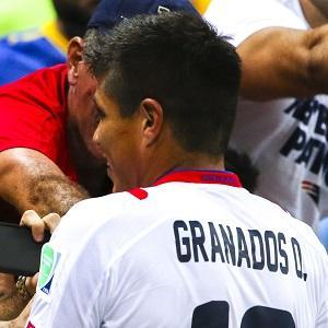 Soccer Player Esteban Granados - age: 31