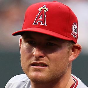 baseball player Mark Trumbo - age: 35