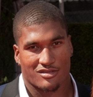 Football player Larry English - age: 34