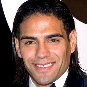 Soccer Player Radamel Falcao - age: 34