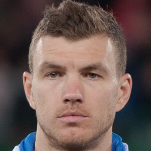 Soccer Player Edin Dzeko - age: 34