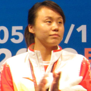 badminton player Zhao Yunlei - age: 34