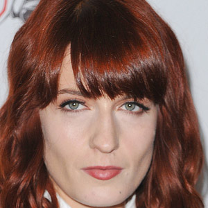 Rock Singer Florence Welch - age: 30