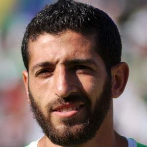 Soccer Player Rafik Halliche - age: 34