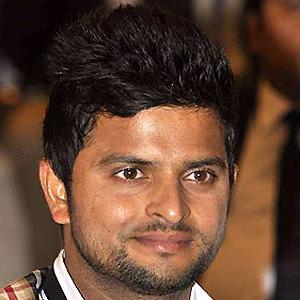 Cricket Player Suresh Raina - age: 34