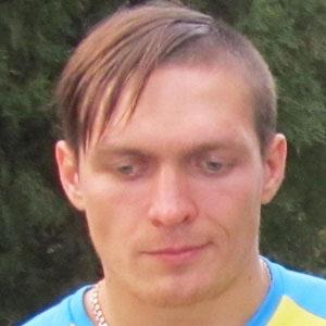 Boxer Oleksandr Usyk - age: 30