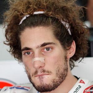 Race Car Driver Marco Simoncelli - age: 24