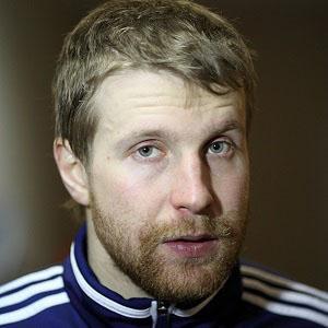 Hockey player Leo Komarov - age: 33