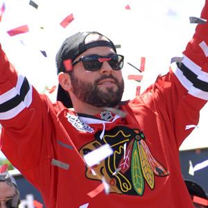 Hockey player Brandon Bollig - age: 33