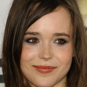 Movie actress Ellen Page - age: 34