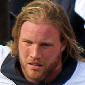 Football player Brooks Reed - age: 33