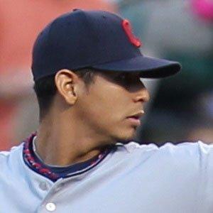 baseball player Carlos Carrasco - age: 33