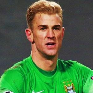 Soccer Player Joe Hart - age: 33