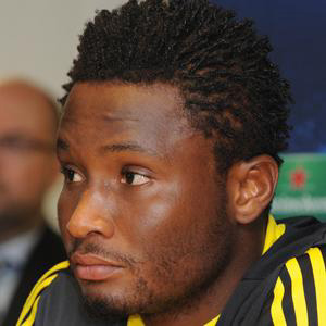 Soccer Player Mikel Obi - age: 33