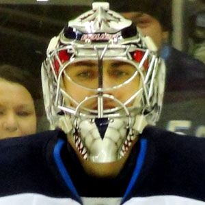 Hockey player Ondrej Pavelec - age: 29