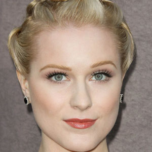 Movie actress Evan Rachel Wood - age: 33