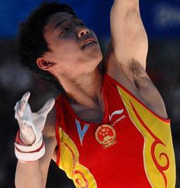 Gymnast Zou Kai - age: 29