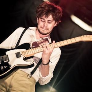Guitarist Ian Crawford - age: 32