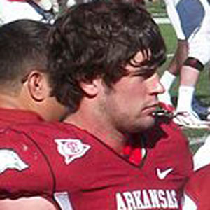 Football player Jake Bequette - age: 28