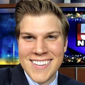 News Anchor Dan Thorn - age: 31