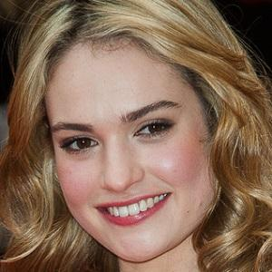 TV Actress Lily James - age: 32