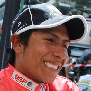 Cyclist Nairo Quintana - age: 30