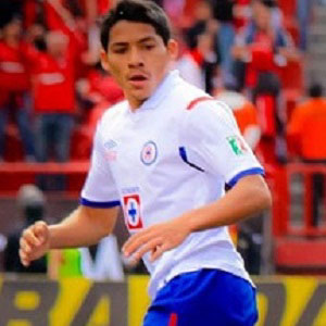 Soccer Player Javier Aquino - age: 30