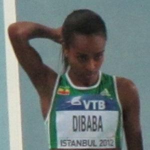 Runner Genzebe Dibaba - age: 29