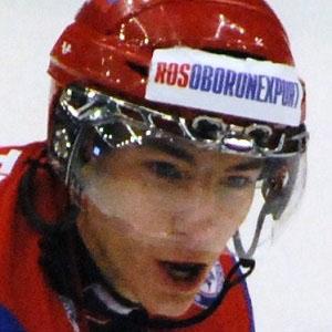 Hockey player Alexander Burmistrov - age: 25