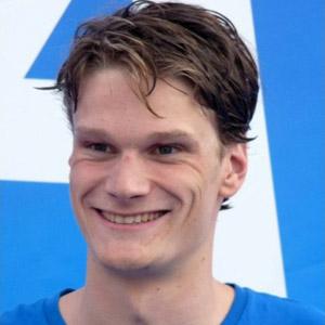 Swimmer Yannick Agnel - age: 28