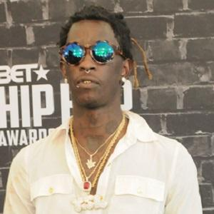 Rapper Young Thug - age: 28
