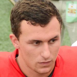 Football player Johnny Manziel - age: 28