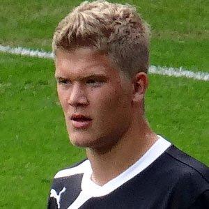 Soccer Player Andreas Cornelius - age: 27