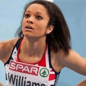 Runner Jodie Williams - age: 27