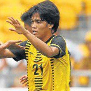 Soccer Player Nazmi Faiz - age: 26