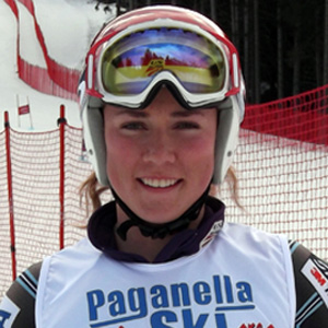 Skier Mikaela Shiffrin - age: 22