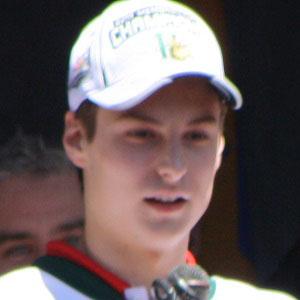Hockey player Zach Fucale - age: 25