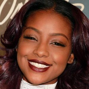 R&B Singer Justine Skye - age: 21