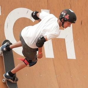 Skateboarder Mitchie Brusco - age: 21