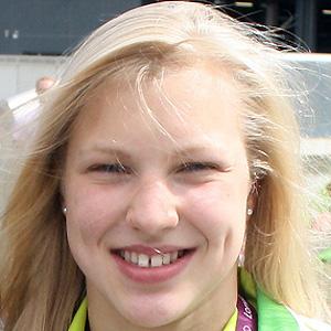 Swimmer Ruta Meilutyte - age: 20