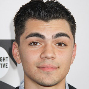 TV Actor Adam Irigoyen - age: 24